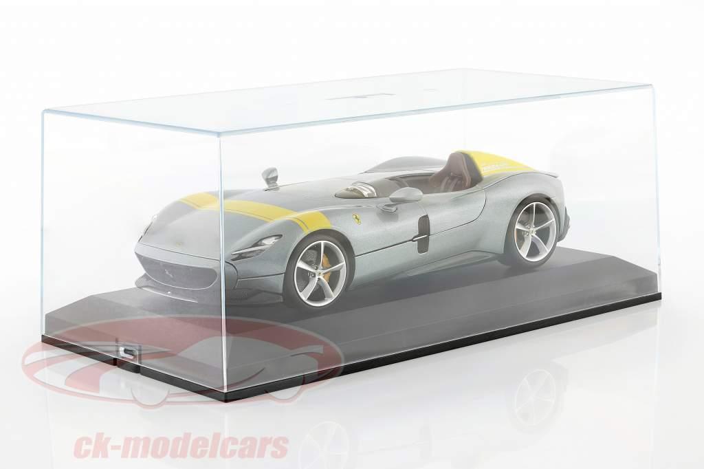 Eksklusivt enkelt skærm for modelbiler 1:18