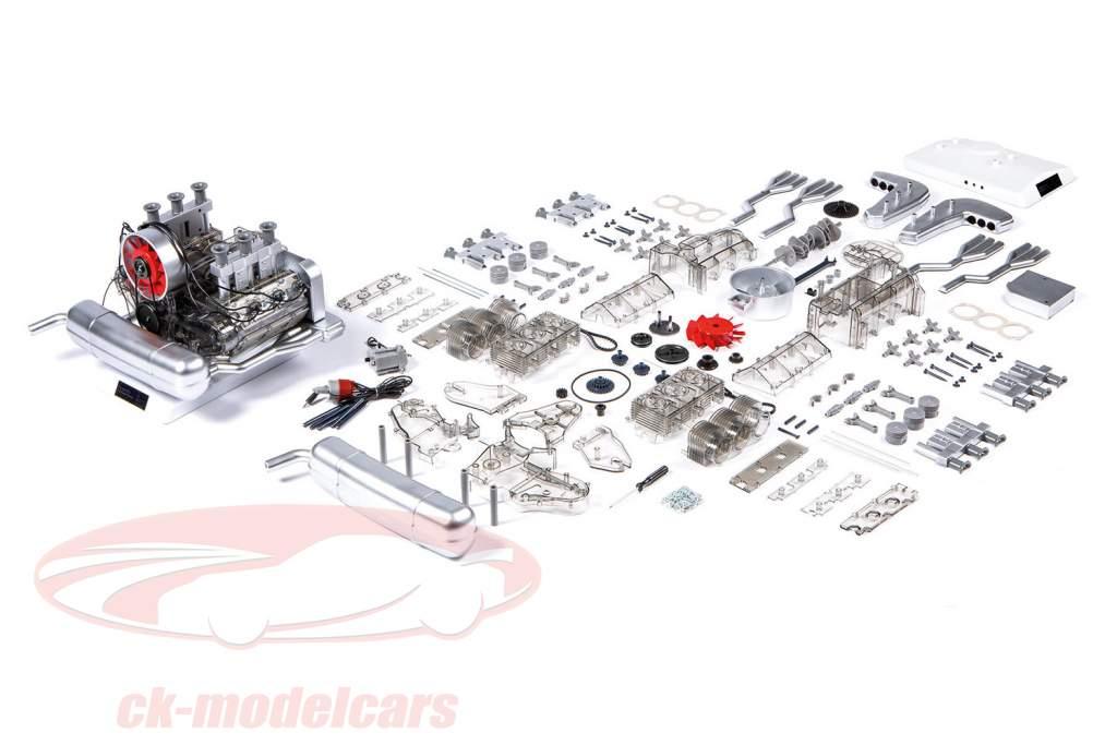 Porsche 911 6 cilindros Motor Boxer Ano de construção 1966 Kit 1:4 Franzis