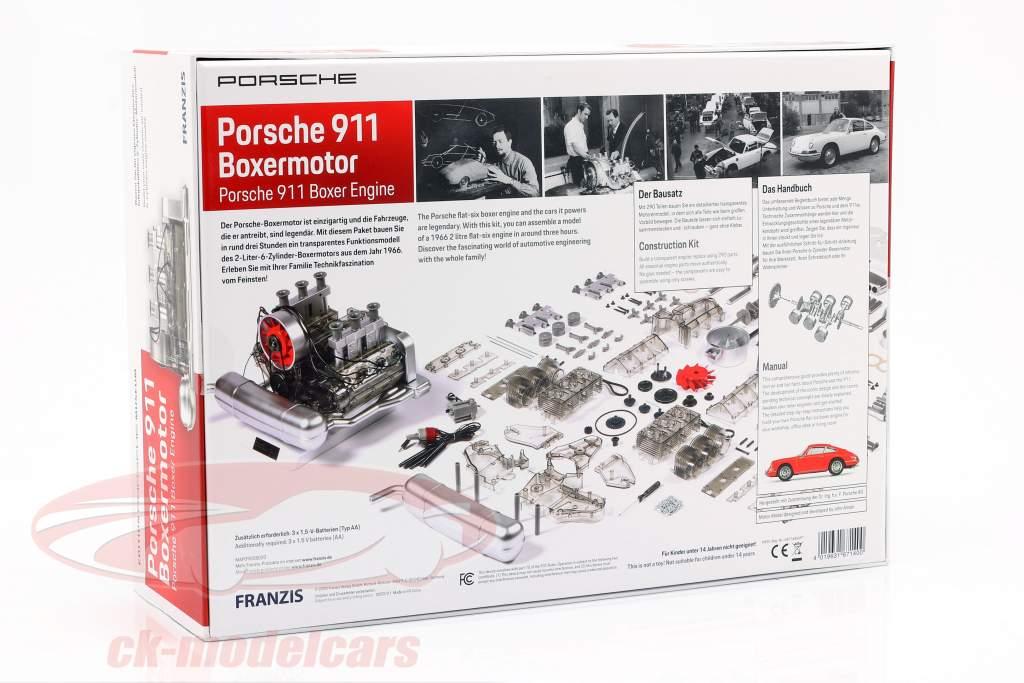 Porsche 911 6-Zylinder Boxermotor Baujahr 1966 Bausatz 1:4 Franzis