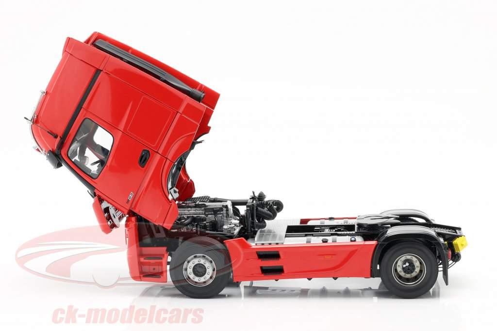 Mercedes-Benz Actros Gigaspace 4x2 Camión Facelift 2018 rojo 1:18 NZG