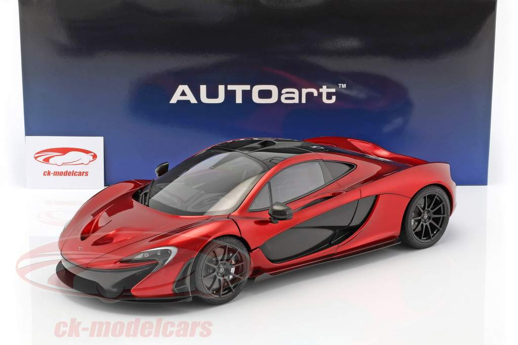 McLaren P1 anno di costruzione 2013 vulcano rosso 1:12 AUTOart