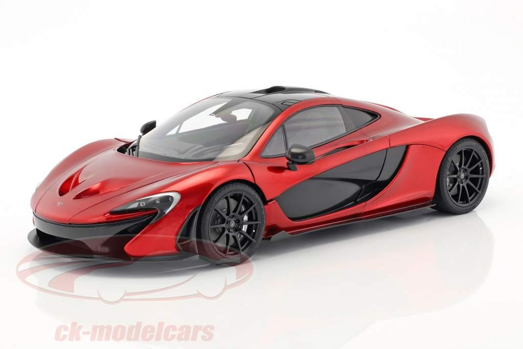 McLaren P1 année de construction 2013 volcan rouge 1:12 AUTOart