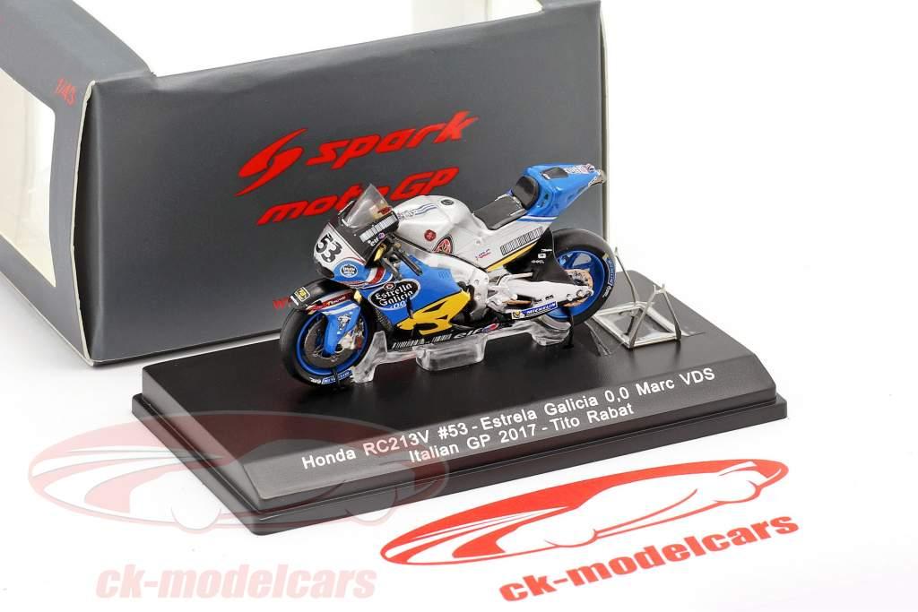 Esteve Rabat Honda RC213V #53 MotoGP 2017 1:43 Spark