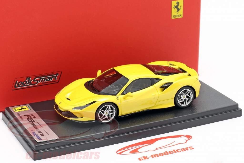 Ferrari F8 Tributo Baujahr 2019 gelb metallic 1:43 LookSmart
