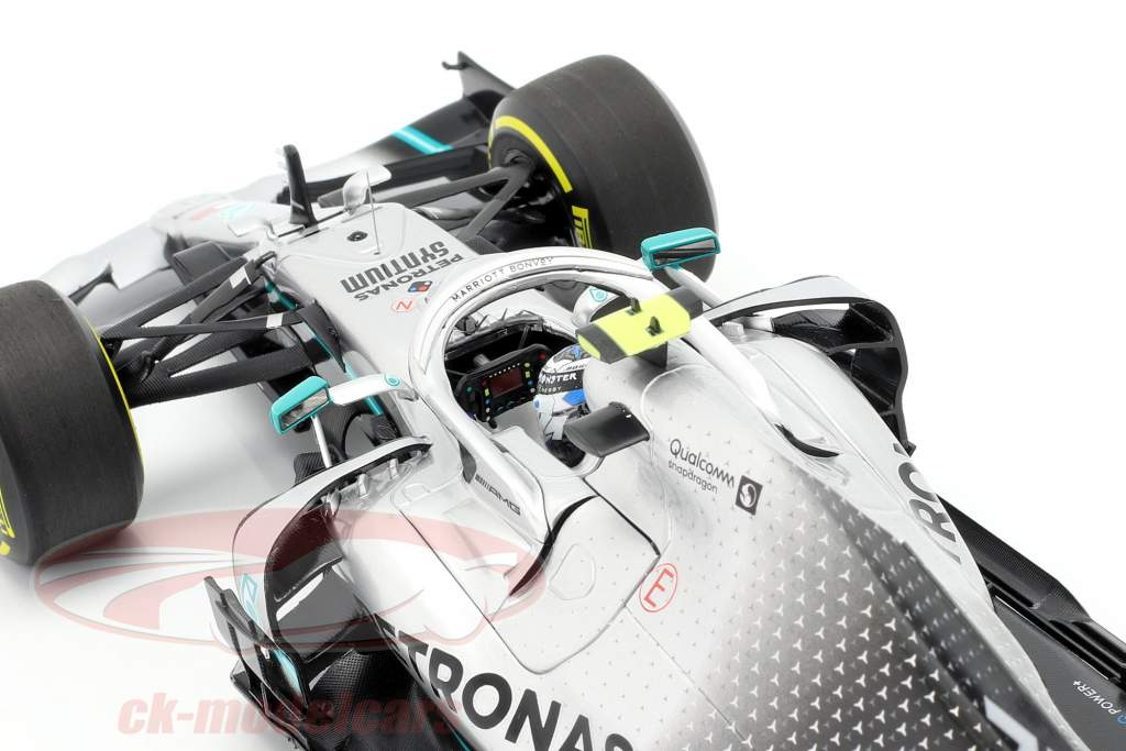V. Bottas Mercedes-AMG F1 W10 EQ Power  #77 2 ° China GP F1 2019 1:18 Minichamps