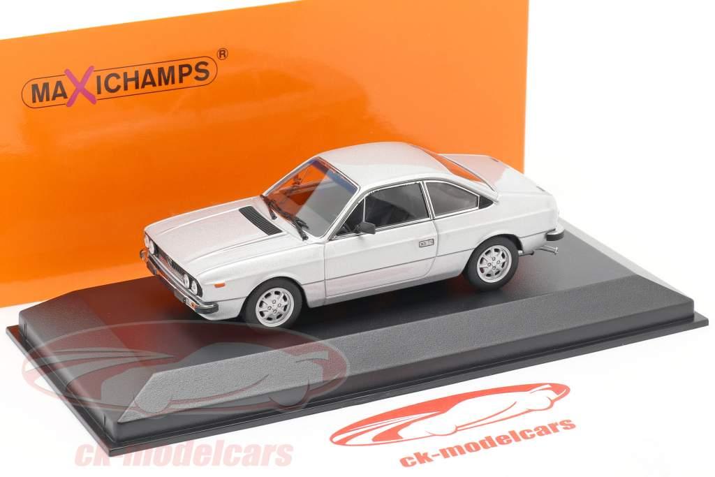 Lancia Beta Coupe Año de construcción 1980 plata 1:43 Minichamps
