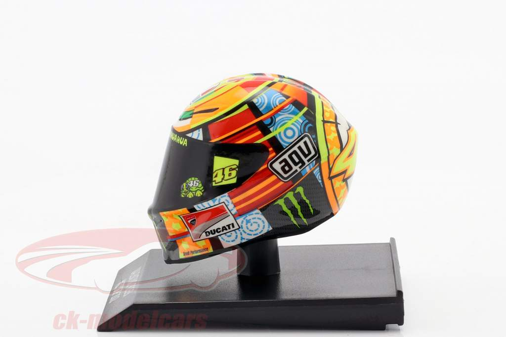 Valentino Rossi Ducati Desmosedici GP12 #46 MotoGP 2012 1:10 Minichamps