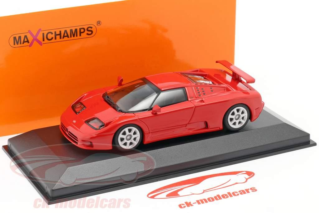 Bugatti EB 110 Année de construction 1994 rouge 1:43 Minichamps