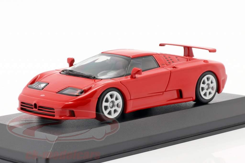 Bugatti EB 110 Baujahr 1994 rot 1:43 Minichamps