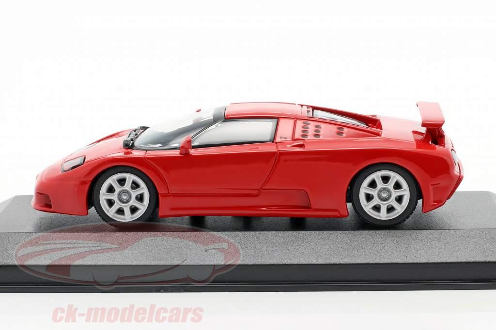 Bugatti EB 110 Anno di costruzione 1994 rosso 1:43 Minichamps