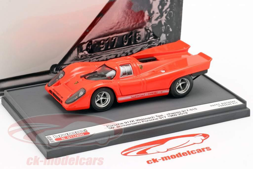 Porsche 917K Weissach Taxi 50th Anniversary Porsche 917 1:43 Brumm