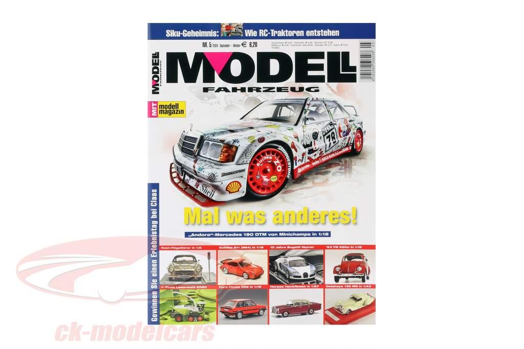 Modell Fahrzeug - tijdschrift output september 05 / 2020