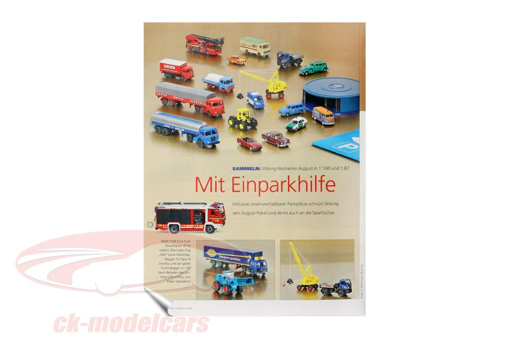 Modell Fahrzeug - revista salida septiembre 05 / 2020
