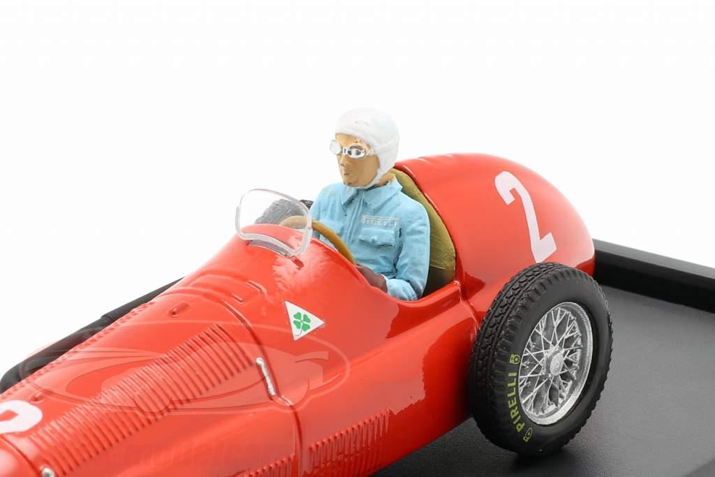 G. Farina Alfa Romeo 158 #2 Campeão mundial Grã Bretanha GP F1 1950 1:43 Brumm