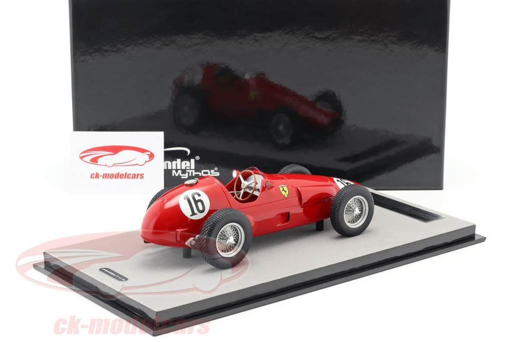 E. Castellotti, M. Hawthorn Ferrari 625 F1 #16 Gran Bretaña GP F1 1955 1:18 Tecnomodel