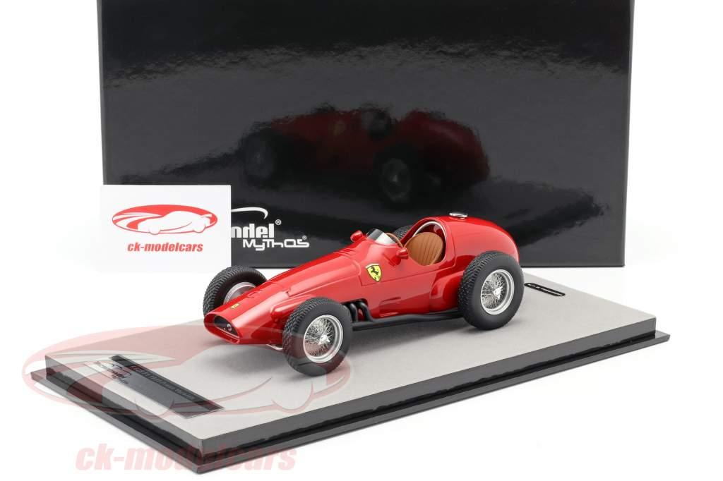 Ferrari 625 F1 druk op versie 1955 rood 1:18 Tecnomodel