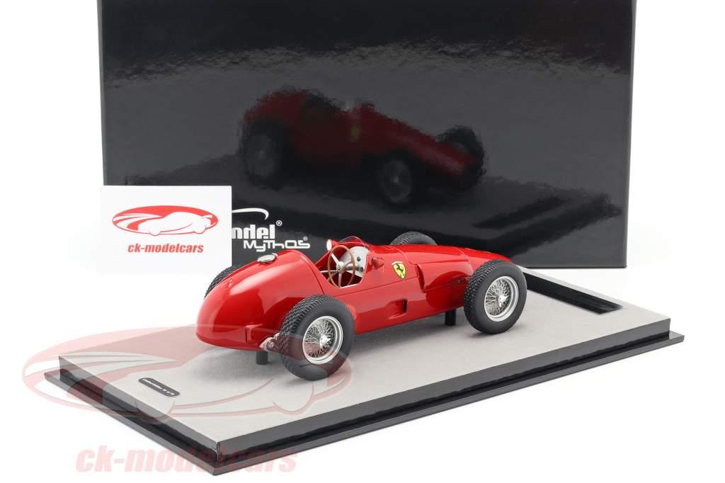 Ferrari 625 F1 stampa versione 1955 rosso 1:18 Tecnomodel