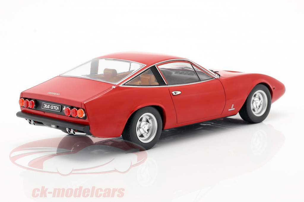 Ferrari 365 GTC4 year 1971 red 1:18 KK-Scale