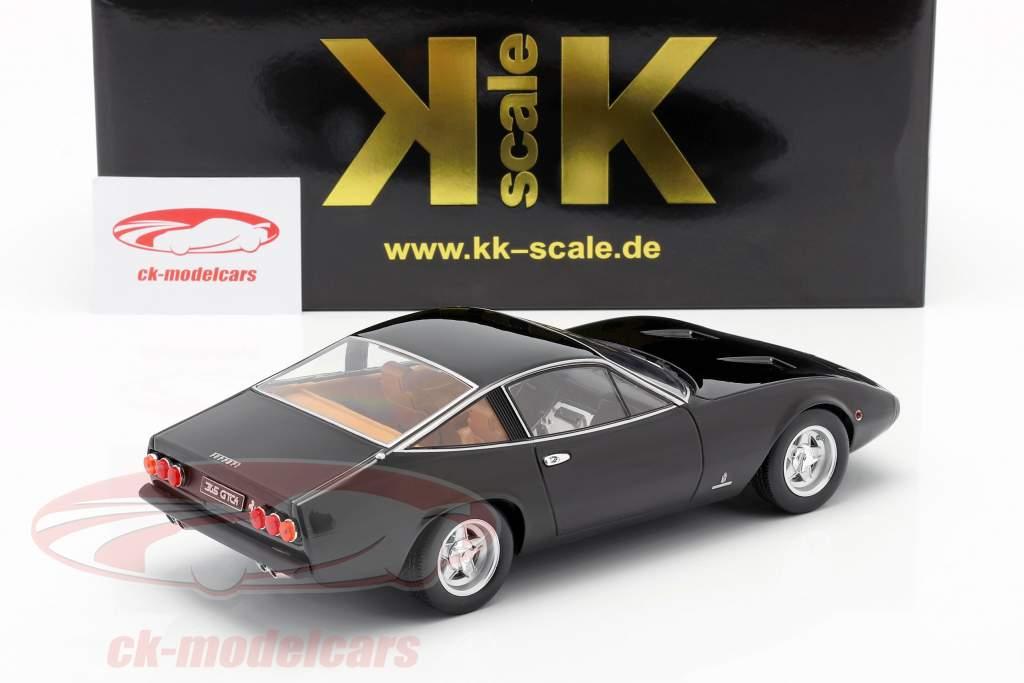 Ferrari 365 GTC4 Bouwjaar 1971 zwart 1:18 KK-Scale
