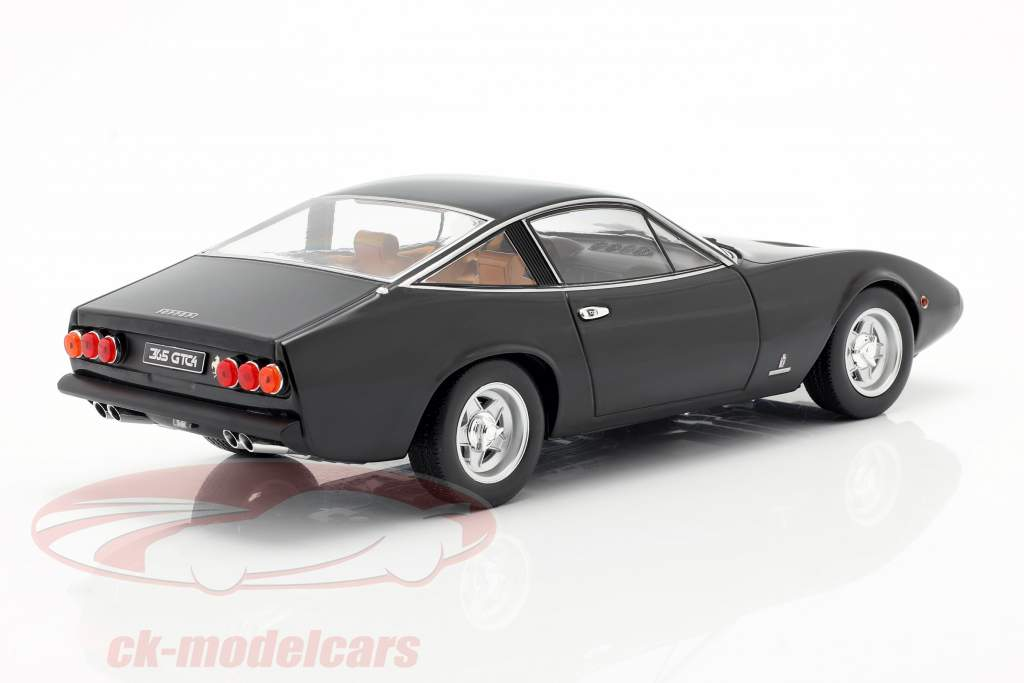 Ferrari 365 GTC4 Année de construction 1971 noir 1:18 KK-Scale