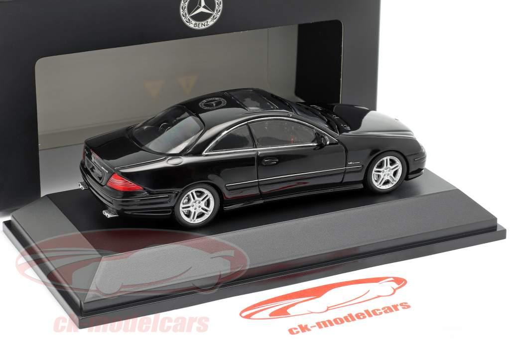 Mercedes-Benz CL65 AMG Año de construcción 2000 negro 1:43 Spark