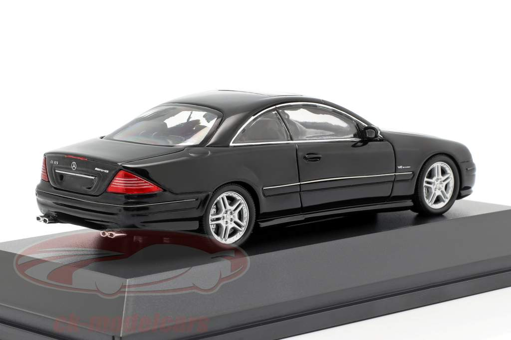 Mercedes-Benz CL65 AMG year 2000 black 1:43 Spark