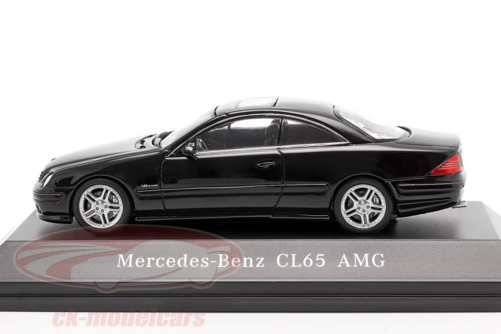 Mercedes-Benz CL65 AMG Byggeår 2000 sort 1:43 Spark