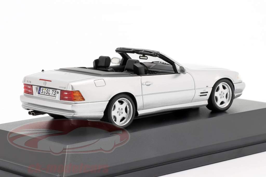 Mercedes-Benz SL 73 AMG Año de construcción 1999 plata 1:43 Spark