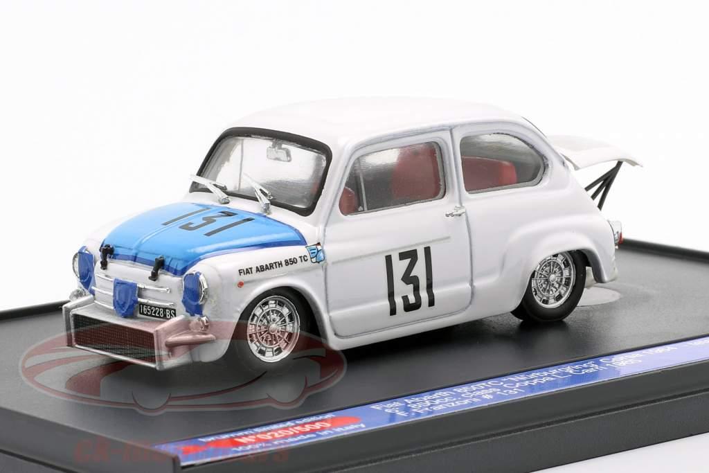 Fiat Abarth 850TC #131 Coppa Carri Monza 1965 Franzoni 1:43 Brumm