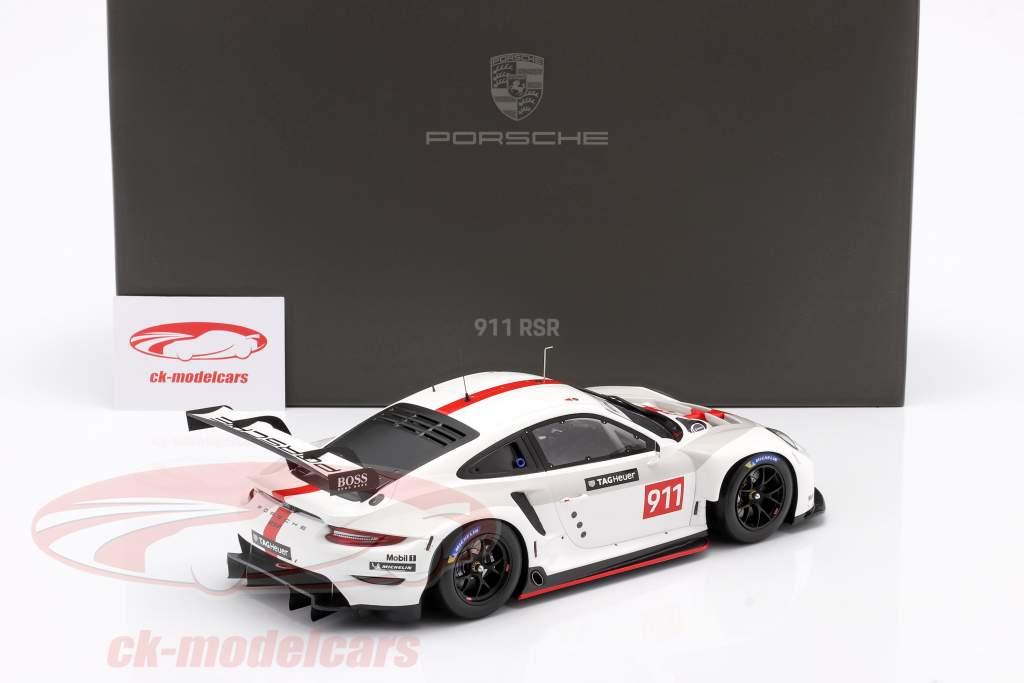 Porsche 911 (992) RSR WEC 2019 Presentazione versione 1:18 Spark