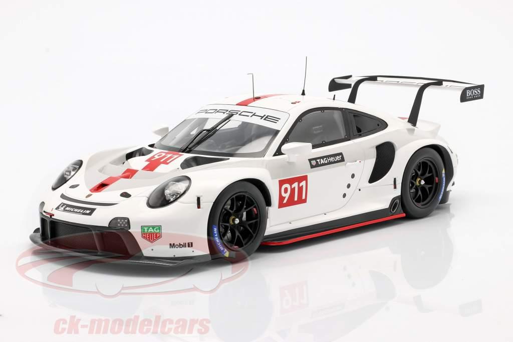 Porsche 911 (992) RSR WEC 2019 Presentación versión 1:18 Spark