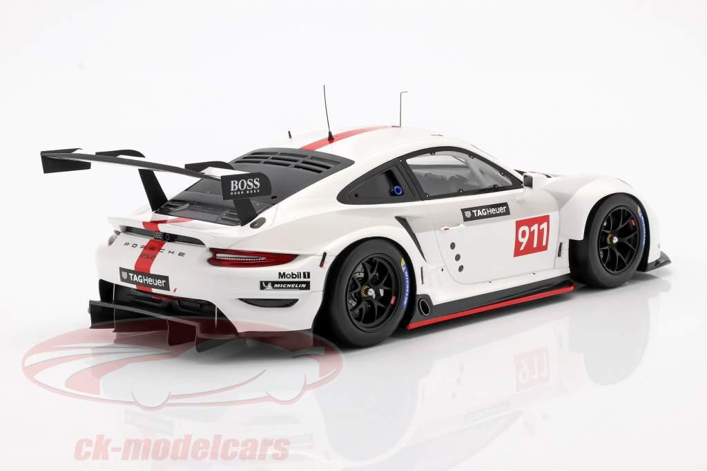 Porsche 911 (992) RSR WEC 2019 Presentation version 1:18 Spark