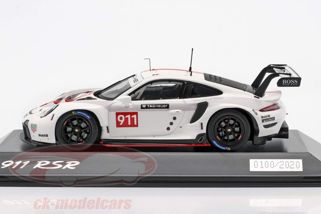 Porsche 911 (992) RSR WEC 2019 Presentation Version 1:43 Spark