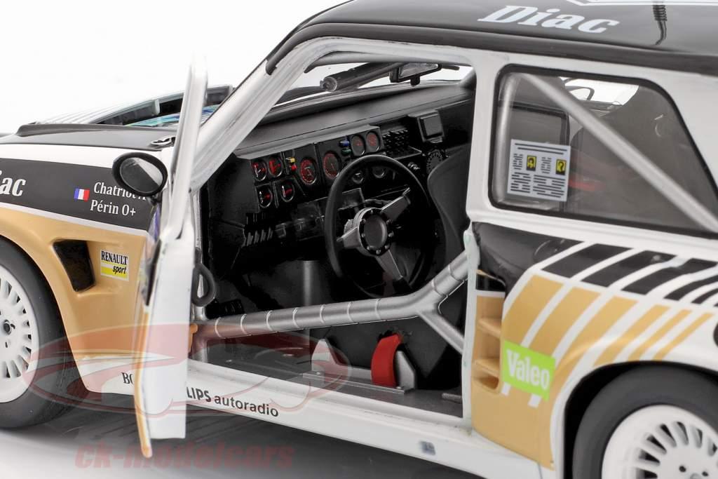 Renault Maxi 5 Turbo #1 Winner Rallye du Var 1986 Chatriot, Perin 1:18 Solido