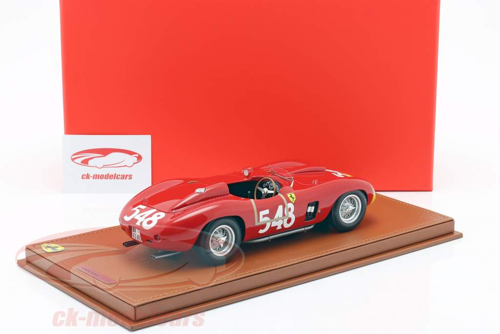 Ferrari 290 MM #548 Gagnant Mille Miglia 1956 Castellotti 1:18 BBR