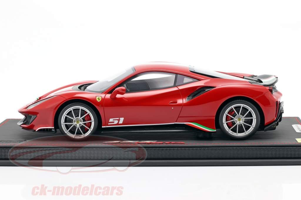 Ferrari 488 Pista Piloti Año de construcción 2018 rojo 1:18 BBR