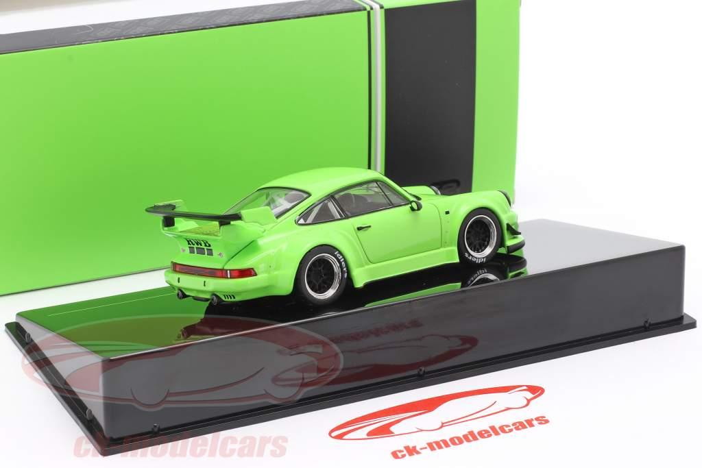 Porsche 911 (930) RWB Rauh-Welt brillant vert 1:43 Ixo
