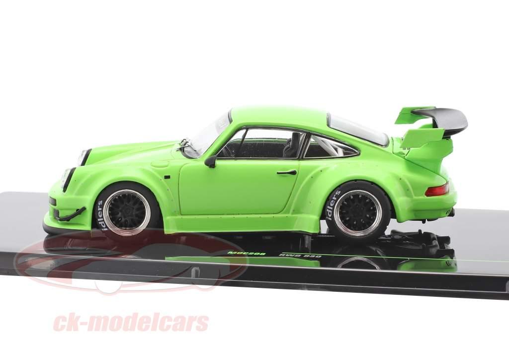 Porsche 911 (930) RWB Rauh-Welt luminosa verde 1:43 Ixo