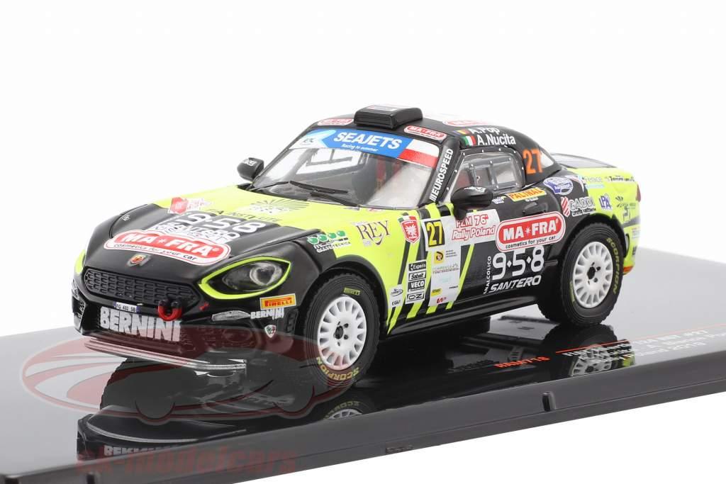 Fiat Abarth 124 RGT #27 Rally Poland 2019 Nucita, Pop 1:43 Ixo