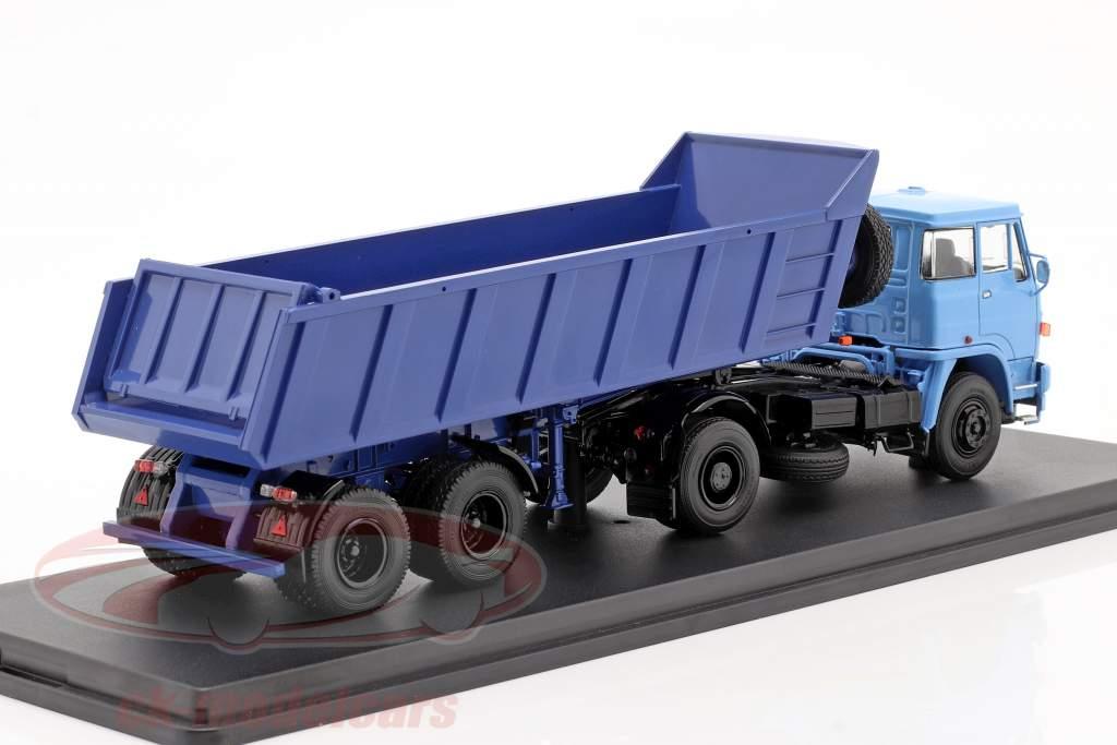 Liaz 110 Met MAZ 9506-20 Kipwagen blauw 1:43 PremiumClassiXXs