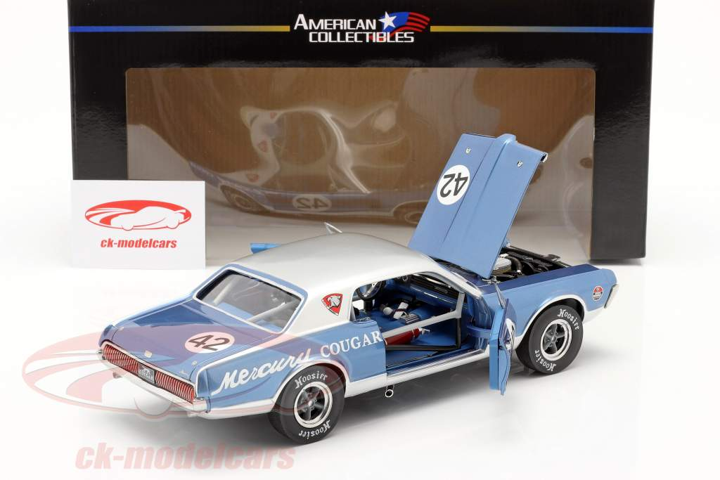 Mercury Cougar Racing #42 Nortwoods Shelby Club 2011 1:18 SunStar