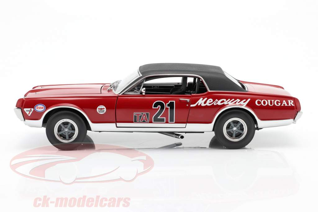 Mercury Cougar Racing #21 Watkins Glen Historic Enduro 200 2012 1:18 SunStar