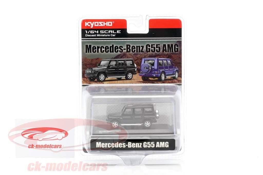Mercedes-Benz G55 AMG noir 1:64 Kyosho