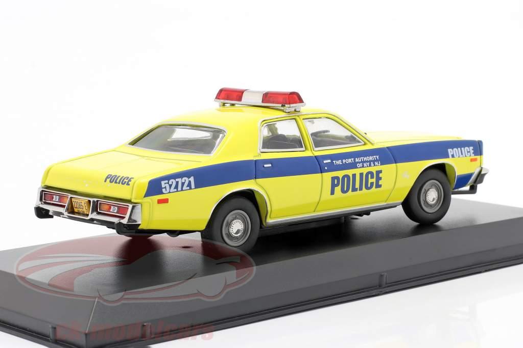 Plymouth Fury Anno di costruzione 1977 porta Autorità New York and NJ 1:43 Greenlight
