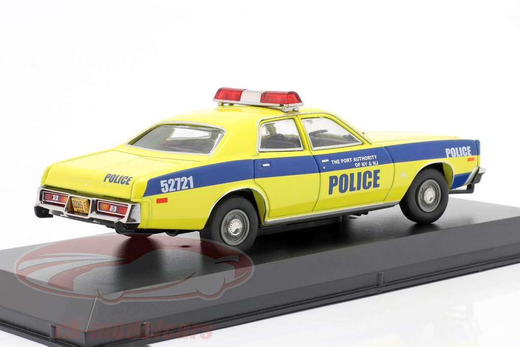 Plymouth Fury Byggeår 1977 Havn Myndighed New York and NJ 1:43 Greenlight