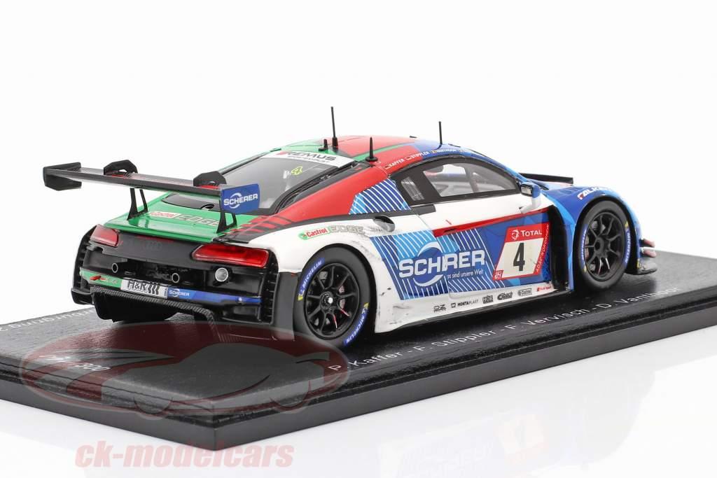 Audi R8 LMS GT3 #4 Vincitore 24h Nürburgring 2019 Sporco versione 1:43 Spark