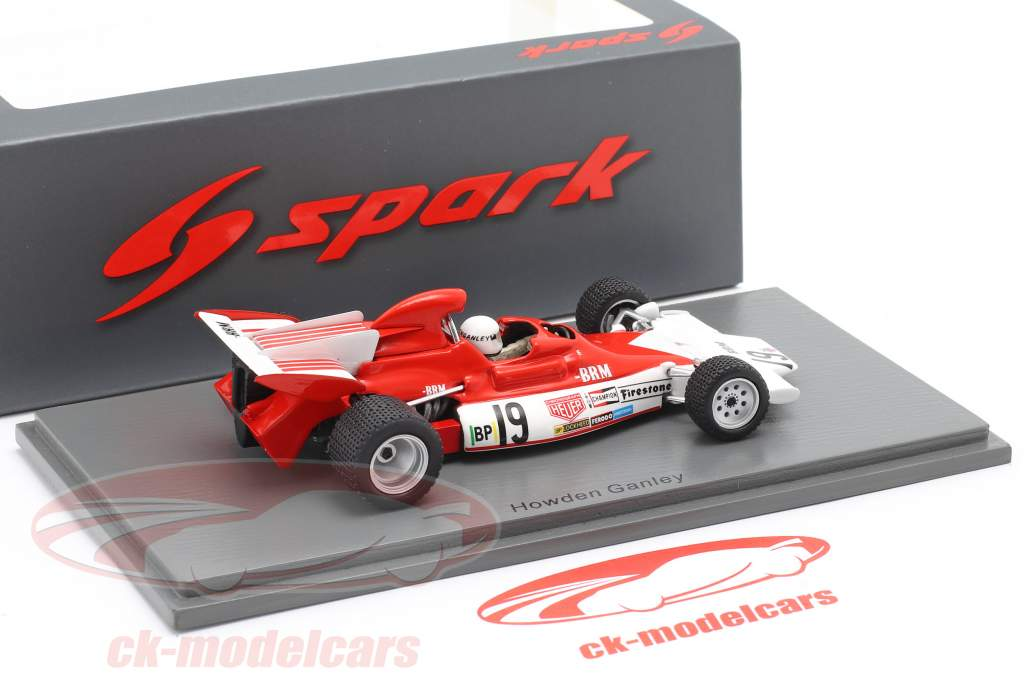 Howden Ganley BRM P180 #19 Monaco GP formule 1 1972 1:43 Spark