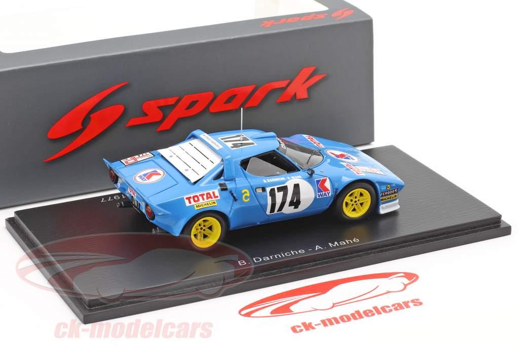 Lancia Stratos HF #174 Ganador Tour de France 1977 Darniche, Mahe 1:43 Spark