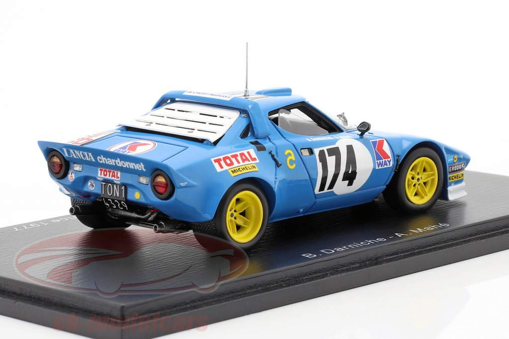 Lancia Stratos HF #174 Vinder Tour de France 1977 Darniche, Mahe 1:43 Spark