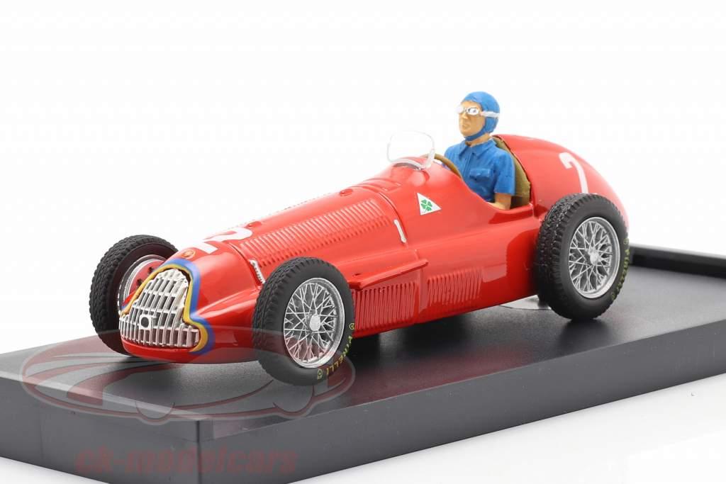 Juan Manuel Fangio Alfa Romeo 159 #2 Verdensmester Belgien GP F1 1951 1:43 Brumm